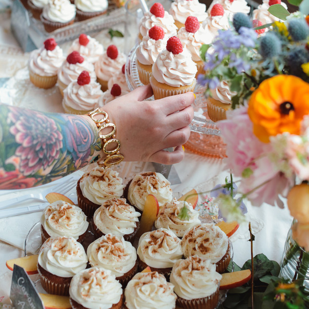 Assorted Wedding Cupcakes