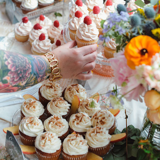 Assorted Wedding Cupcakes