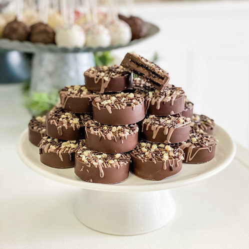 Chocolate Hazelnut Oreos