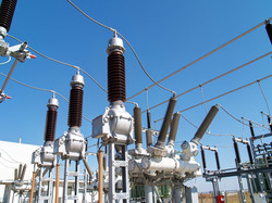 Substation work in Brazil