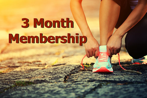3 Month Membership