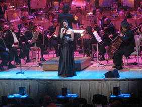 Maria with the Boston Pops