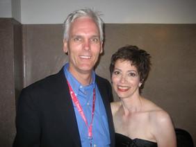 Maria and her husband John Stock