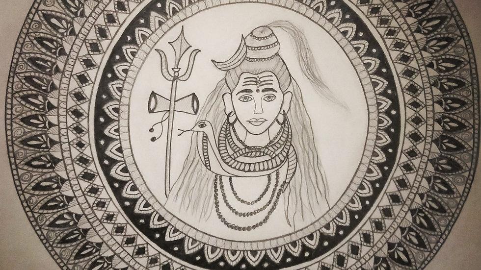 Shivji Mandala Art