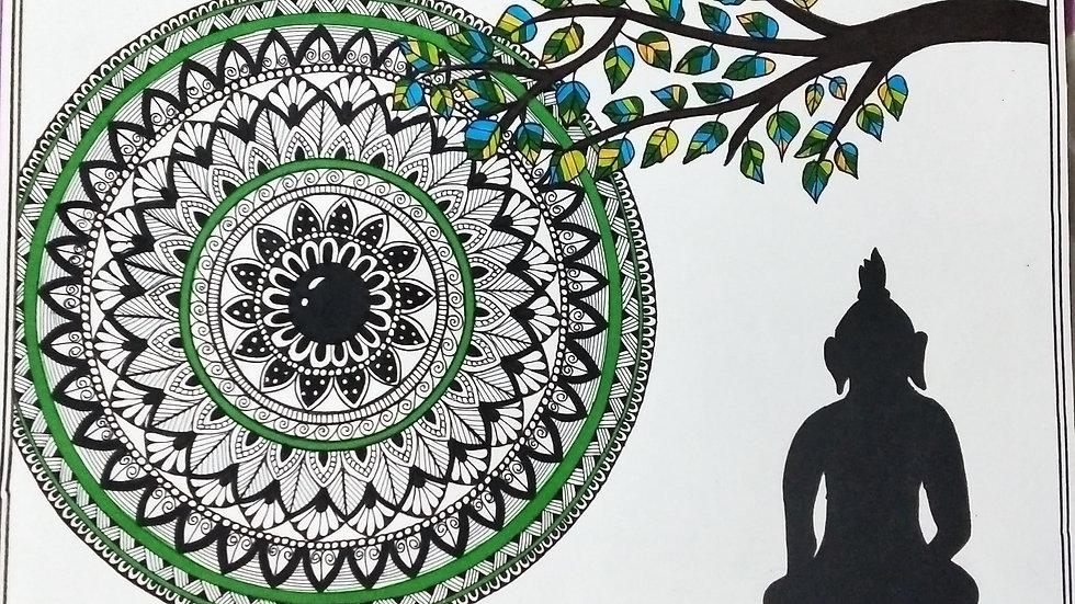 Peaceful Mandala Art