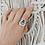 Thumbnail: Heavenly - anel - Labradorite
