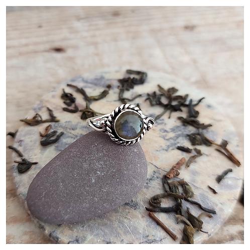 Dreamer - anel -Labradorite