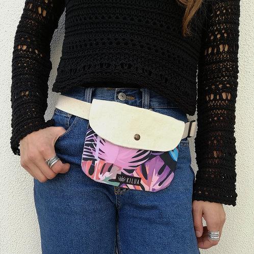 Purple Jungle - bolsa de cintura