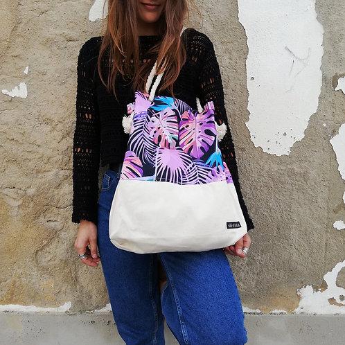 Purple Jungle - saco de ombro