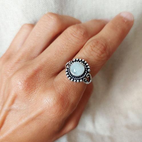 Aura - anel - Pedra da Lua