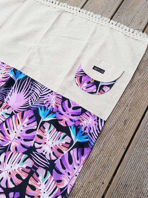 Purple Jungle - toalha de praia