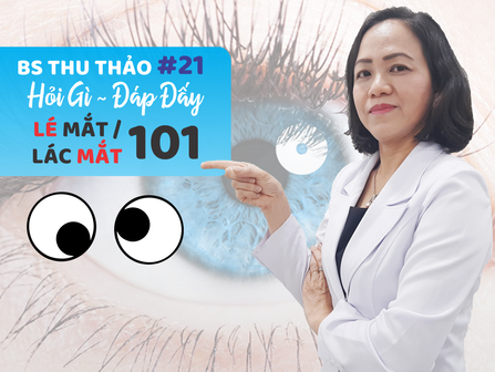 LÉ MẮT - LÁC MẮT 101   Phòng Khám Mắt Thu Thảo