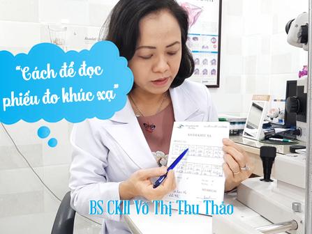 Bác sĩ mắt hướng dẫn cách đọc phiếu đo độ   Phòng Khám Mắt Thu Thảo