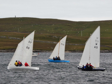 Dipping Lug racers Vielmar, Krak-At and Kon-Tiki