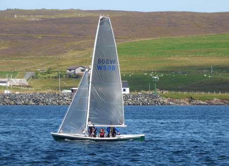 Shetland Model racer Carpe Diem