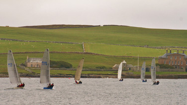 Shetland Models reaching to Gardie