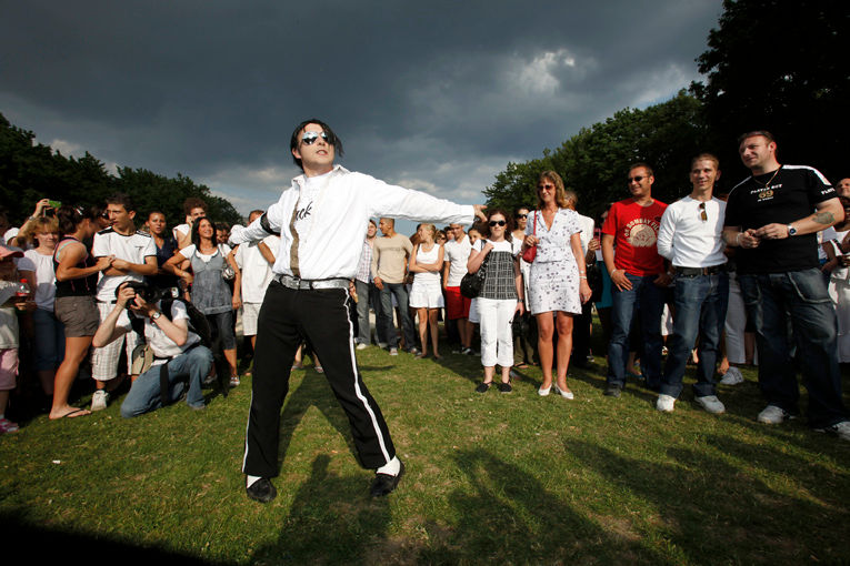 Hommage a Michael Jackson