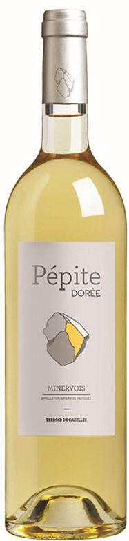 Vin blanc Minervois Languedoc Pépite Dorée
