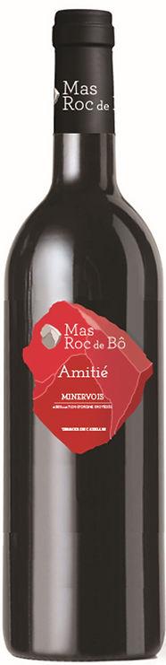 vin rouge Minervois Languedoc Amitié