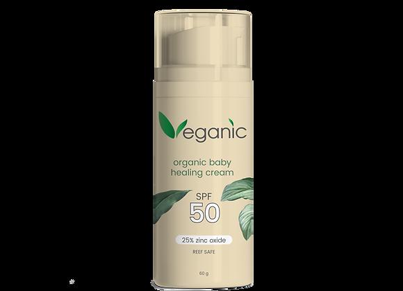 Organic Baby Healing Cream SPF50