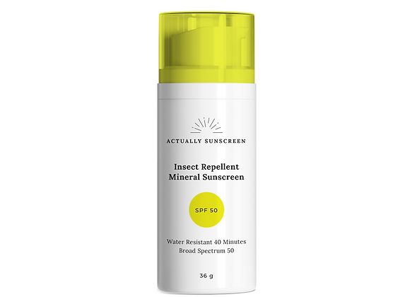Insect Repellent Mineral Sunscreen SPF50