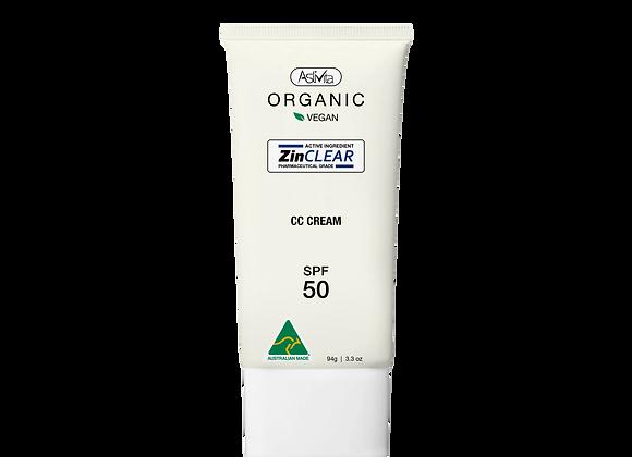 Organic CC Cream SPF50