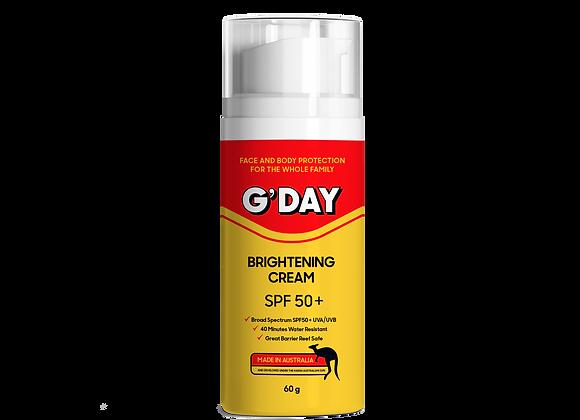 Organic Brightening Cream SPF50+