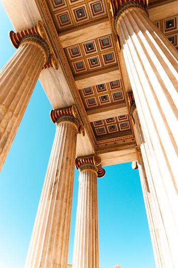 low-angle-photo-of-columns-and-pillars-3