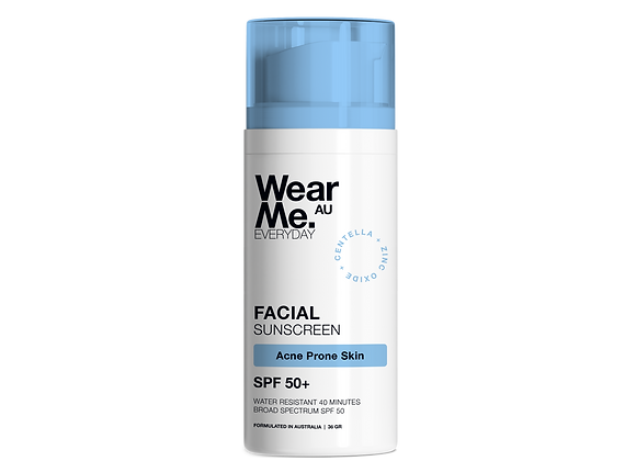 Facial Sunscreen fo Acne Prone Skin SPF50+