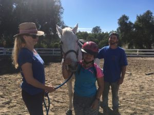 Flying on the Invisible Wings of a Horse at Ride to Fly