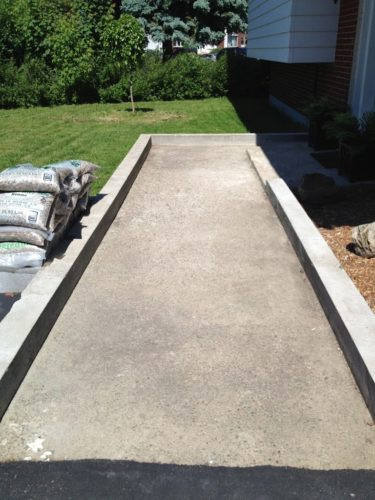 Our DIY Front Path Makeover - ZenShmen Project Curb Appeal, Flagstone, Pavers, River Rock, Landscaping, Hardscaping