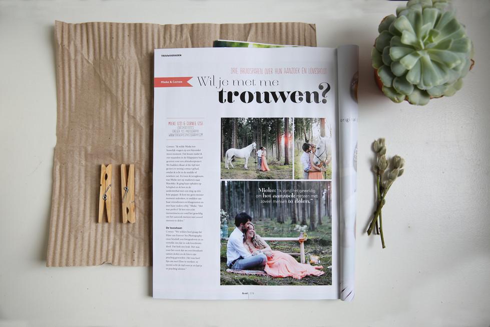 Publicatie Bruid & Bruidegom-magazine Nederland & Duitsland