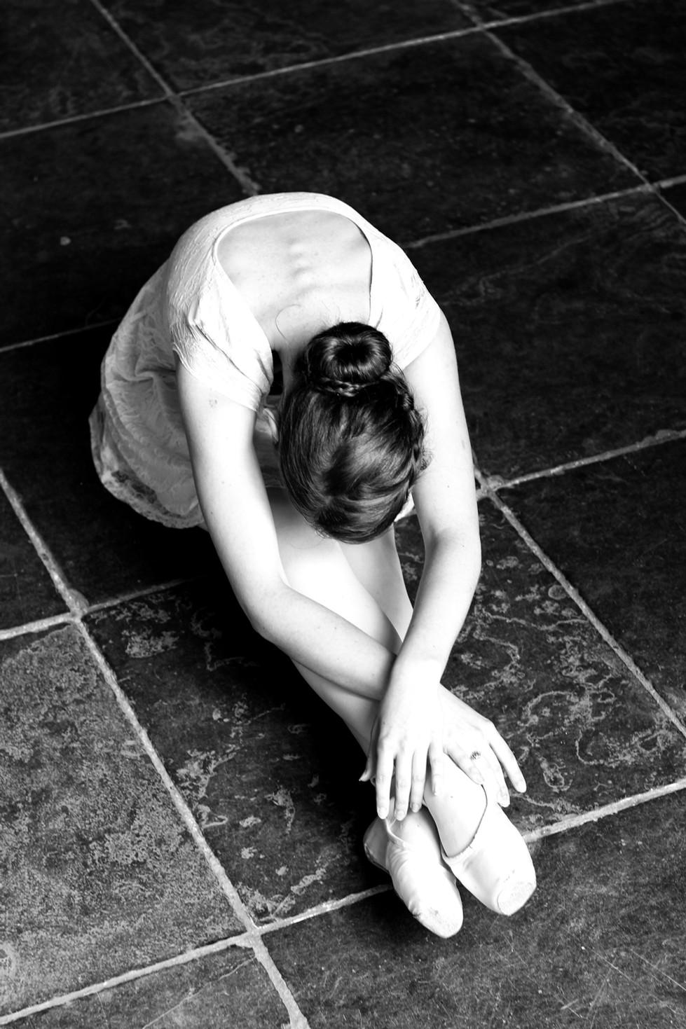 Throwback-thursday: ballerina-photoshoot uit 2013