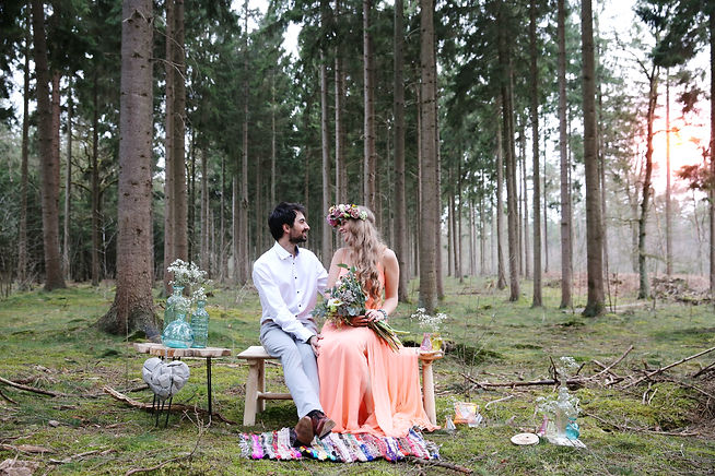Forever Yes Photography - Bohemian Styled Shoot Cornee & Mieke - Eline van der Woude - Lage Vuursche