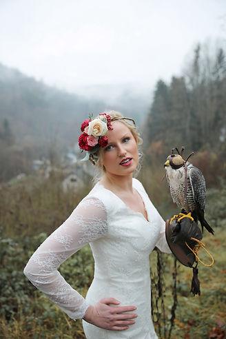 Forever Yes Photography - Bohemian styled wedding-shoot Ardennen, Belgium België Valkerij/Fauconnerie Falcon's Residence Ivan de Gier Sebastiaan Poelen Maaike Poelen