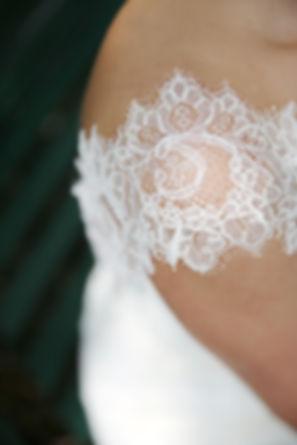 Lace kant trouwjurk bruidsjurk