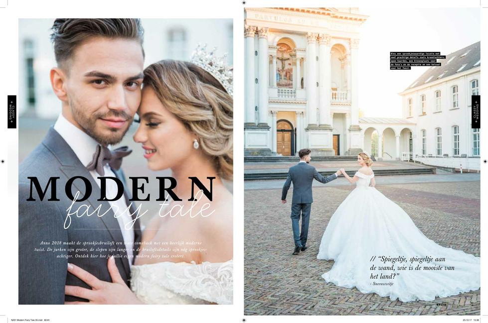 Publicatie Bruid & Bruidegom magazine NL, België & Duitsland
