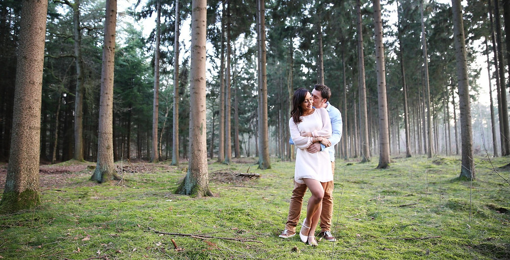 Love-photoshoot Bos Lage Vuursche Forever Yes Photography Eline van der Woude- Hessels