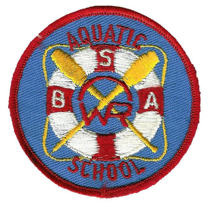 Late 50's Early 60's A-School Patch