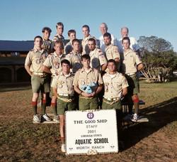 2001 Staff