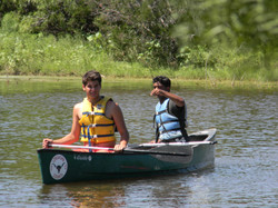 Learning to teach canoeing