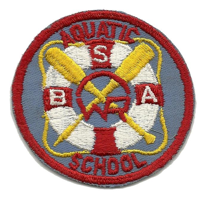 1954 Aquatic School Patch