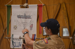 First Mate explains ship flag