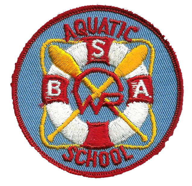 Early to Mid 60's Aquatic School Patch