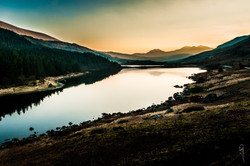 Snowdon Horseshoe from Capel Curig