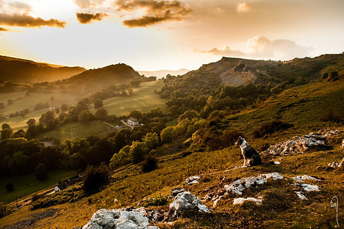 A3 size print - The vale of Llangollen
