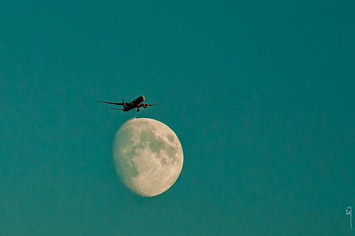 Moon take off