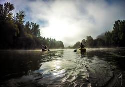 Misty Morning Kayak