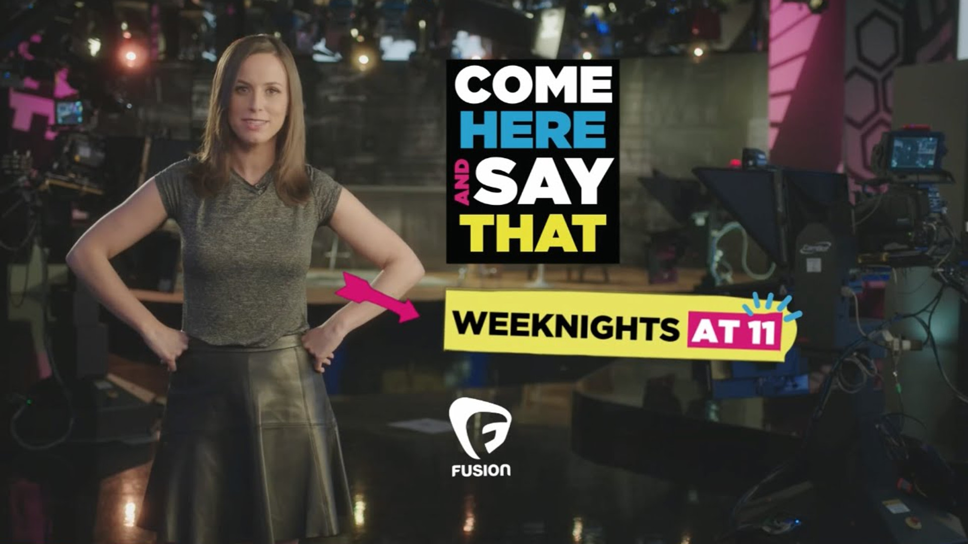 """Come Here and Say That"" TV Promo with Alicia Menendez"