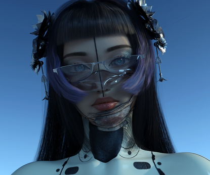 ✌︎('ω'✌︎ ) Vanguard CG-girl Ruby bends the rules of the virtual influencers industry.